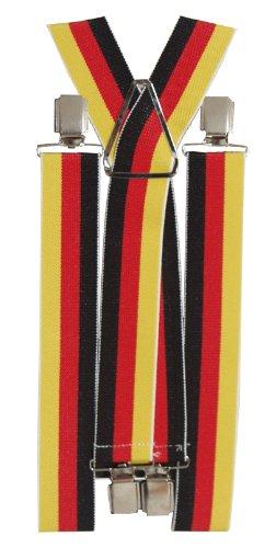 BRUBAKER bretelles solides - 34 mm - à motif Allemagne !!!