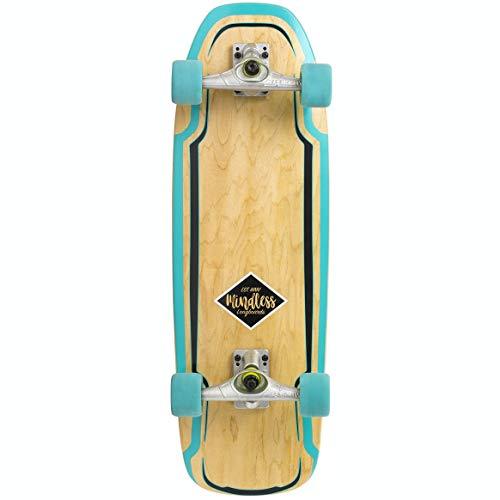 Mindless Longboards Surf Skate Longboard Unisex Erwachsene, Unisex-Erwachsene, MS1000, Grün (Green), 9.5