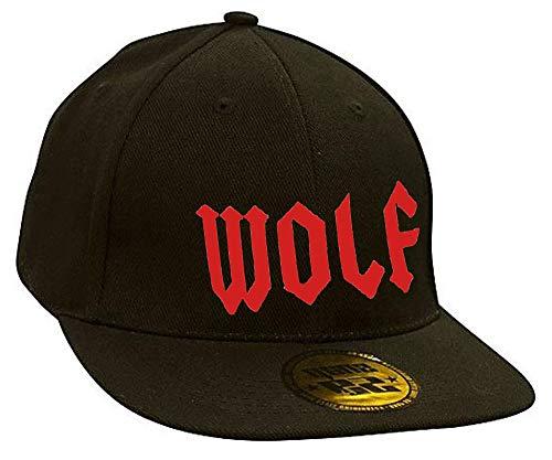 Bonnet Casquette Snapback Baseball Wolf Bad Devil Eyes Hip-Hop Bad Hair Day