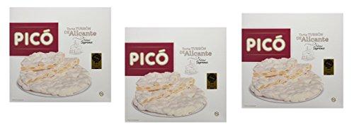 Picó - Il pacchetto include 3 Torta Turrón de Alicante - Alicante torrone torta - qualità suprema - 200gr