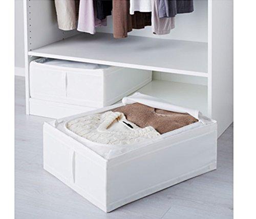 IKEA Skubb Unterbettkommode, Weiß, 2 Stück