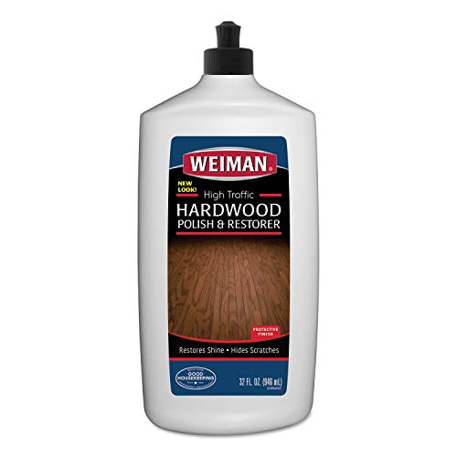 Weiman Wood Floor Polish and Restorer 32 Ounce (2 Pack) -...