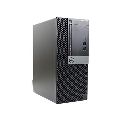 OptiPlex , Core i7-6700 3.4GHz, 16GB RAM, 480GB Solid State Drive, DVDRW, Windows 10 Pro 64bit, (Renewed) - Dell 5040-T