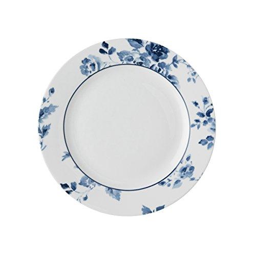 Laura Ashley - Platos, platos de postre – Blueprint China Rose – 18 cm de diámetro.