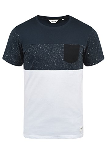 !Solid Kold Herren T-Shirt Kurzarm Shirt Mit Streifen Und Rundhalsausschnitt 100{0da65c68ab63083f688302511c58a1f5496ed5ee6e3e06a738ea18da273ba401} Baumwolle, Größe:XL, Farbe:Insignia Blue (1991)