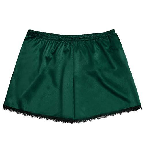 Great Price! kaifongfu Women Panty Shorts Stetch Satin Sleepwear Sexy Pajamas Underwear Yoga Shorts ...