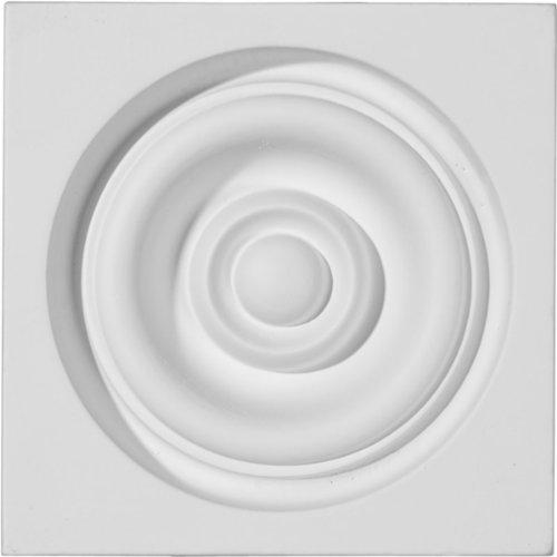 Ekena Millwork PB04X04X01RE 4 1/4-Inch W x 4 1/4-Inch H x 1 5/8-Inch P Reece Plinth Block