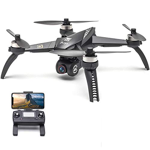 Funien RC Quadcopter, Mjx Bugs 5W B5W RC Drone con cámara 4K Drone 5G WiFi Sin escobillas RC Quadcopter GPS Seguimiento de Vuelo Punto de interés Gesto Foto Video