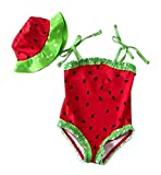 Black Temptation Baby Girls' Two Piece Swimsuits