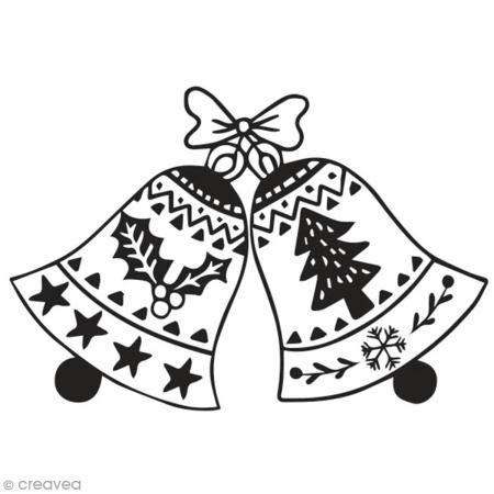 Aladine 01745 Stempel D Weihnachten Glocke