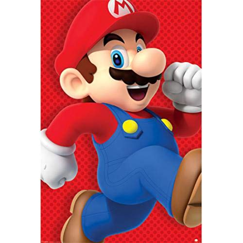 Super Mario 'Run' Maxi Poster,61 x 91.5 cm