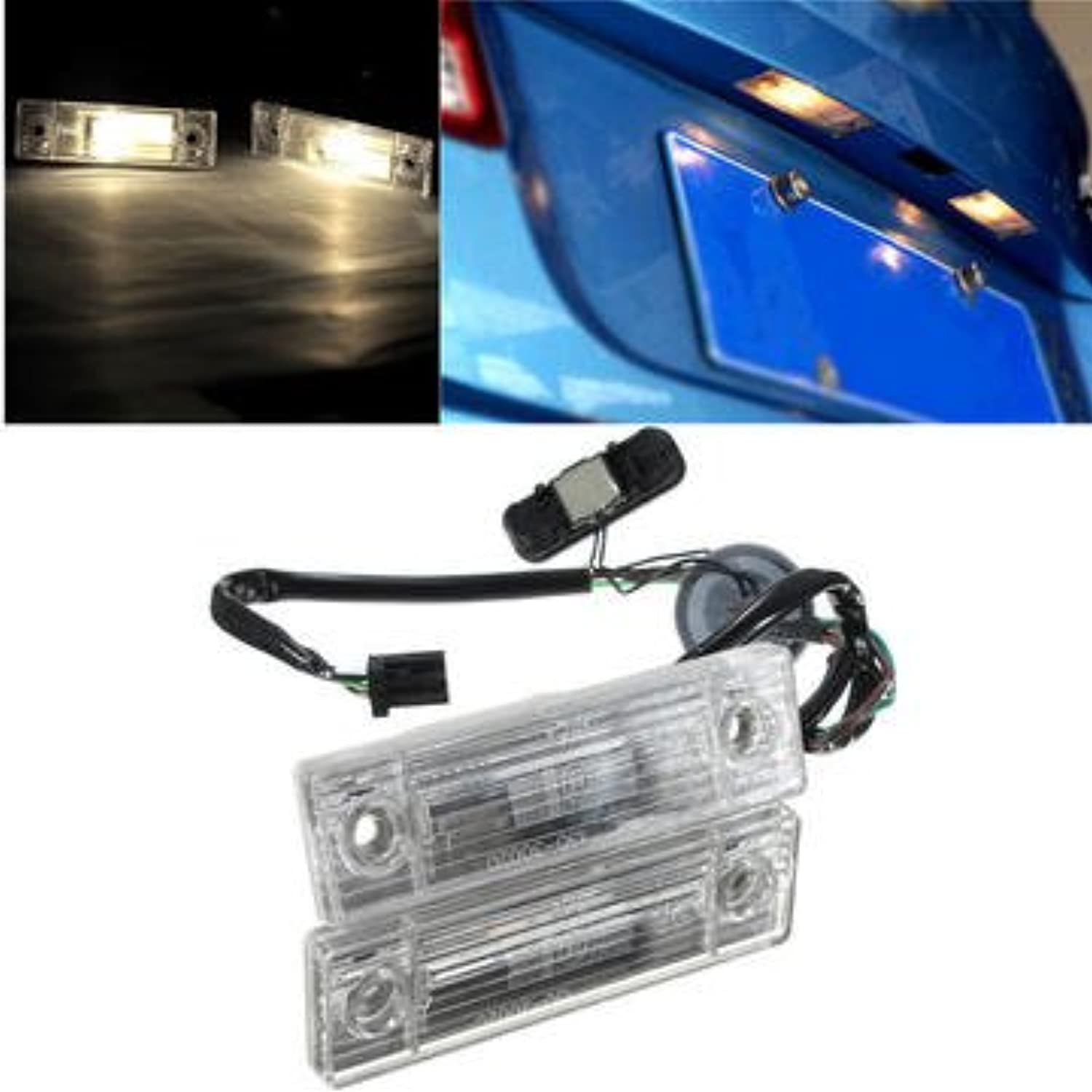 Tail Light Assemblies Car License Plate Lights  Car Rear Trunk Switch Assembly License Plate Lamp for Chevrolet Cruze