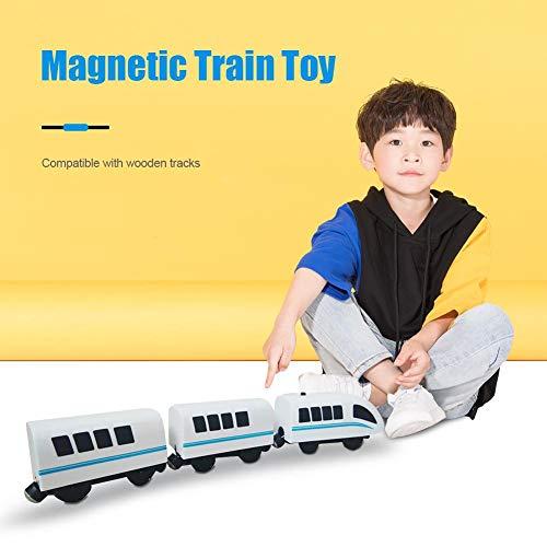 whelsara Juguete de Tren Juguete De Locomotora De Juguete De Tren Magnético...