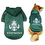 StartBarks Dog Hoodies, Stylish Dog Clothes/Sweatshirt/Sweater/Outfit/Apparel for Small/Medium/Large Dogs,Puppy Halloween Costumes (XXL)