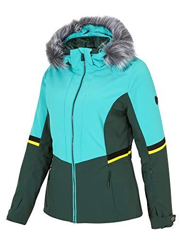 Ziener Damen Toyah Lady (Jacket Ski Snowboard-Jacke/Atmungsaktiv, Wasserdicht, Mermaid Green, 42