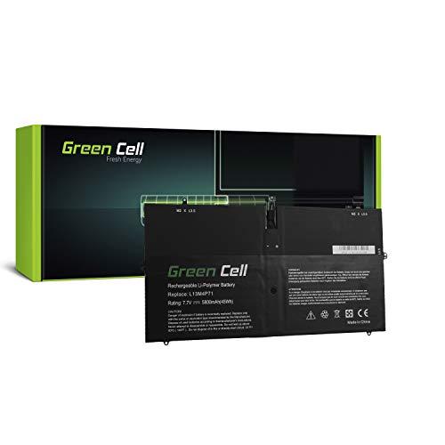 Green Cell® L13M4P71 L14S4P71 Laptop Akku für Lenovo Yoga 3 Pro 1370 20448 80HE (Li-Polymer Zellen 5800mAh 7.7V Schwarz)