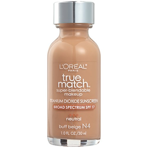 L'Oreal True Match Super Blendable Foundation SPF 17 30ml-N4 Buff Beige