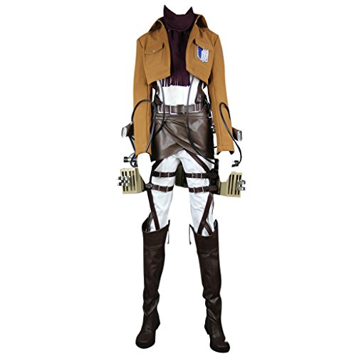 Holysteed Attack On Titan Cosplay Costume Eren Yeager Costume Set XXX-Large