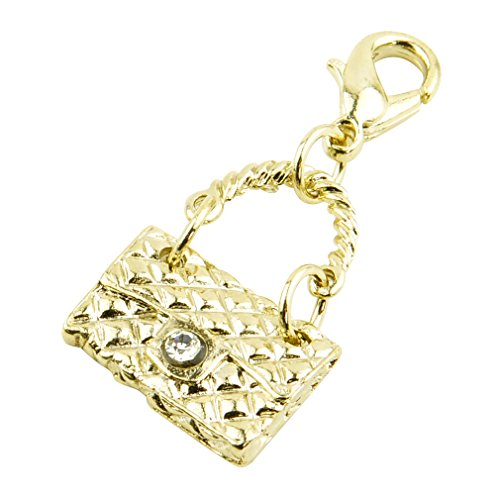 チャームパーツ モチーフ ゴールドカラー p-charm-001-08-キルティングバッグ/アクセサリー マスクチャーム デコパーツ ハンドメイド