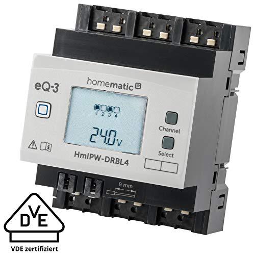 Homematic IP Wired 4-fach-Jalousieaktor HmIPW-DRBL4