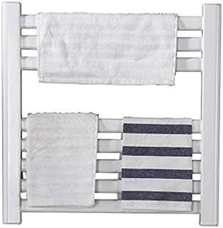 STARAYS Toalla Radiador Rack, De Acero Inoxidable De Pared Calefacción Eléctrica De Baja Potencia Rejilla De Secado, 480 * 480MM