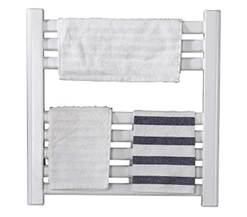 STARAYS Towel Rack Radiator, Wall-Mounted Stainless Steel Electric Heating Low-Power Drying Rack, 480 * 480MM