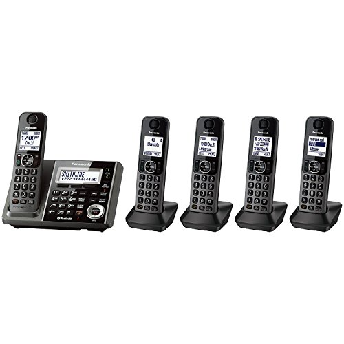 Panasonic KX-TG585SK 5 Handset Link2Cell Cordless Phone
