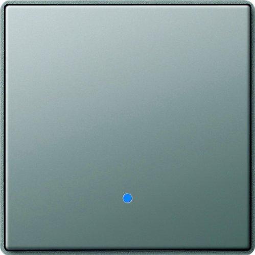 Gira 226120 System 2000 Aufsatz Touchschalter Gira E22, Edelstahl