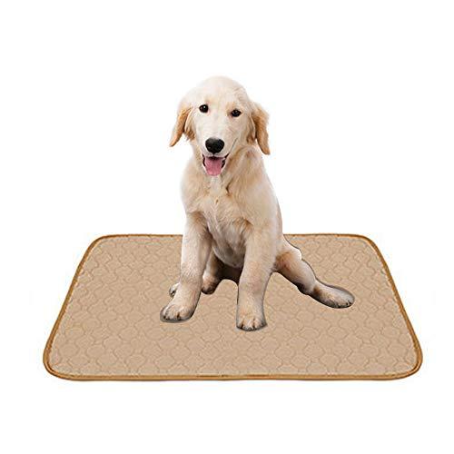 Doglemi - Tapis de dressage lavable pour chien - Absorption rapide de l'urine - Réutilisable - Avec base imperméable et antidérapante - Pour l