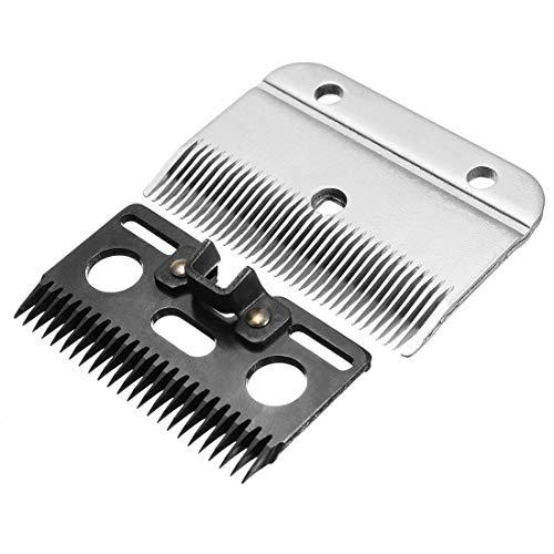 GTTBS-jd - Cuchillas para Cortar el Pelo de Caballo, Cuchillas de Repuesto para Cortador de Cabra, Cuchillas Ideales de Corte rápido compatibles con cortapelos de 24 Dientes + 35 Dientes