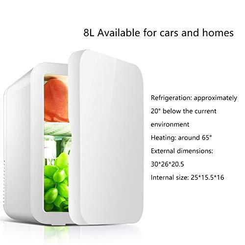 YijIAN-CAR REFRIGERATORS draagbare elektrische autokoelkasten 8 l mini-koelkast auto cosmetische masker studentenhuis koelkast moedermelk koelkast handig buiten