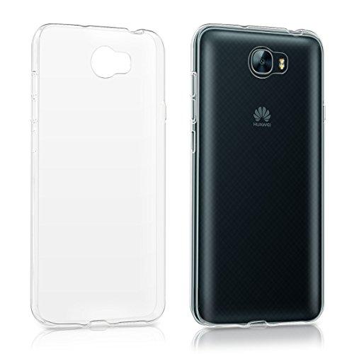 kwmobile Hülle kompatibel mit Huawei Y6 II Compact (2016) - Handyhülle - Handy Case in Transparent