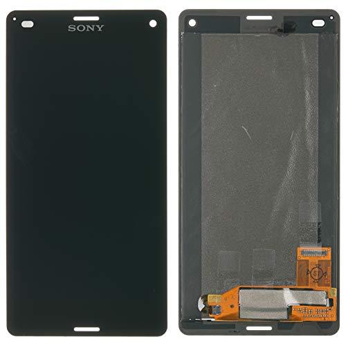 NG-Mobile Display Reparatur Set Modul LCD Touchscreen Glas Scheibe Bildschirm + Kleber für Sony Xperia Z3 compact, schwarz