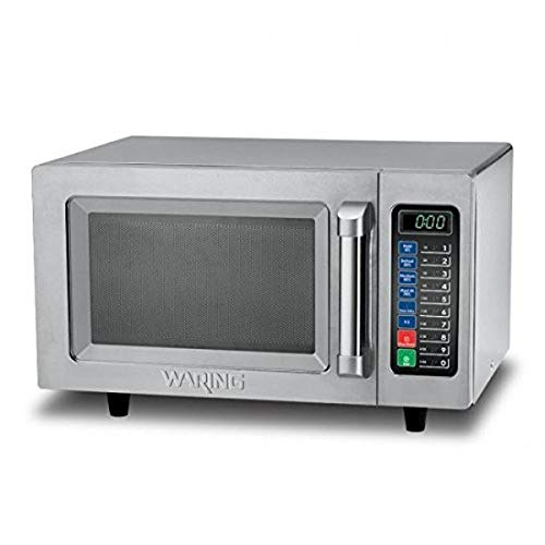 Waring Commercial WMO90 Medium Duty 09 cu ft Commercial Microwave Steel