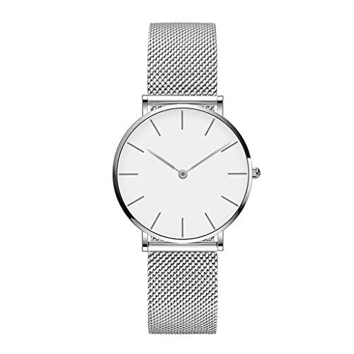 Quartz Beweging 36mm Vrouwen RVS Mesh Rose Goud Waterdichte Dames Horloge