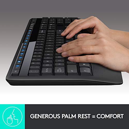 Logitech MK345 Wireless Keyboard and Mouse Combo Product Image