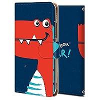 Xperia XZ3 ケース 手帳型 エクスぺリア XZ3 カバー 耐衝撃 スマホケース おしゃれ かわいい 純正 人気 花柄 全機種対応 可愛い恐竜 かわいい アニマル アニメ 9141742