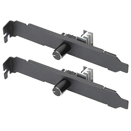 T opiky Concentrador de Ventilador de chasis, 2 uds, 3 Pines/4 Pines, Ventilador de refrigeración, Controlador de Velocidad PWM, Sistema Controlador de Ventilador para PC(Negro)