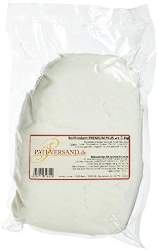 Pati-Versand Premium Rollfondant 1kg, weiß, 1er Pack (1 x 1 kg)