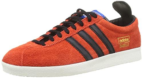 adidas Gazelle Vintage, Chaussure de Piste d'athltisme Homme, True Orange Core Black Blue, 46 EU