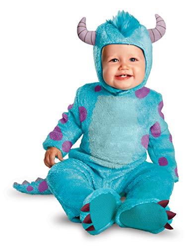 Disguise Costumes Disney Pixar Monsters University Sulley Classic Infant, Blue/Purple, 6-12 Months
