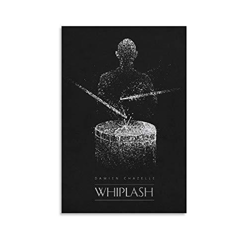 Whiplash Classic Movie Poster Vintage Film Canvas Wall Decor Art Painting Druck für Büro Wohnzimmer Schlafsäle Häuser – Geschenke für Freund Mann 30 x 45 cm