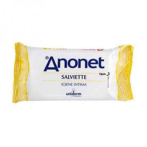 Anonet Salviette per l'Igiene Intima - 1 confezione da 15 salviette