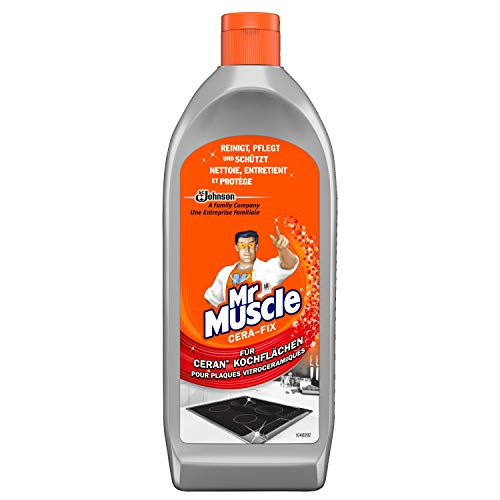 Mr Muscle Cera-fix, Ceranfeldreiniger, 1er Pack (1 x 200 ml)