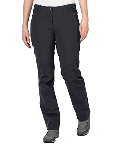 Jack Wolfskin Damen Drake Flex Pants Women Hosen Frauen, Phantom, 22
