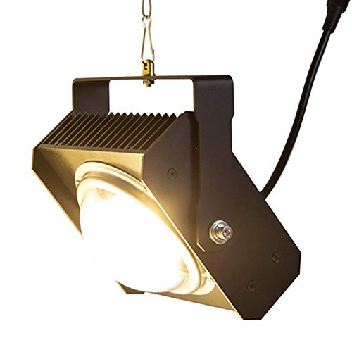LED Grow Light Full Spectrum Black 100W LED Plant Growth Lamp for Indoor Hydroponic Greenhouse Plants Growing Tent