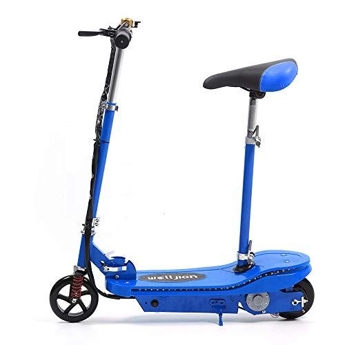 Radelldar Patinete electrico Scooter eléctrico Plegable Ajustable la Altura Potencia del Motor:...