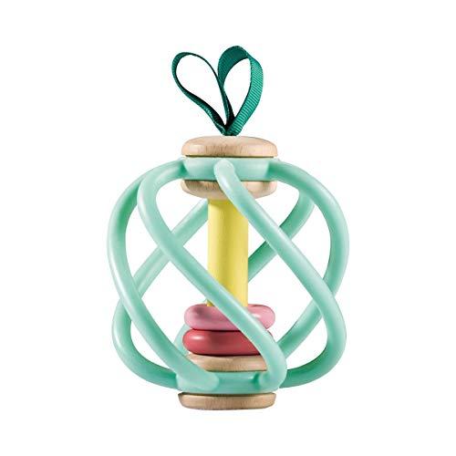 Hape Hochet Pomme Alex Jouet à saisir, Multicolore