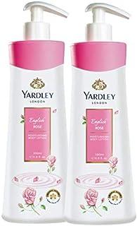 Yardley London English Rose Moisturising Hand & Body Lotion, 350ml (Pack of 2)