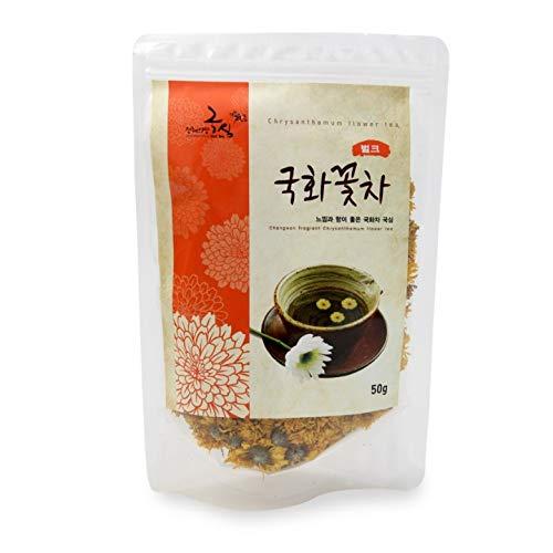 Chrysanthemum Flower Tea Fragrant Tea Herbal Tea Buds Flower Floral from Korea_50 grams
